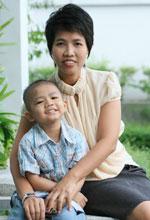 case luekemia human 3 year old